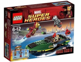 LEGO Marvel Super Heroes Set #76006 Iron Man: Extremis Sea Port Battle