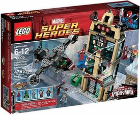 LEGO Marvel Super Heroes Set #76005 Daily Bugle Showdown