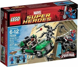 LEGO Marvel Super Heroes Set #76004 Spider-Cycle Chase