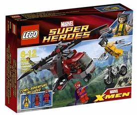 LEGO Marvel Super Heroes Set #6866 Wolverine's Chopper Showdown