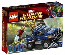 LEGO Marvel Super Heroes Set #6867 Loki's Cosmic Cube Escape