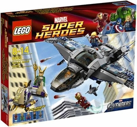 LEGO Marvel Super Heroes Set #6869 Quinjet Aerial Battle