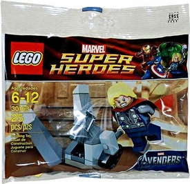 LEGO Marvel Super Heroes Exclusive Set #30163 Thor & Cosmic Cube [Bagged]