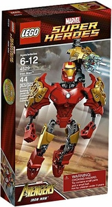LEGO Marvel Super Heroes Ultrabuild Figure Set #4529 Iron Man