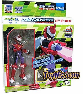 Mega Man NT Warrior Super Poseable Battle Action Figure Protoman RM-02 with Battle Chip