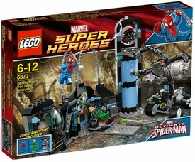 LEGO Marvel Super Heroes Exclusive Set #6873 Spider-Man's Doc Ock Ambush