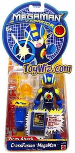 Mega Man NT Warrior Virus Attack Action Figure CrossFusion Mega Man