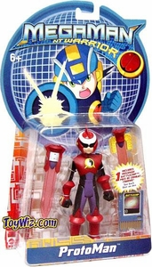 Mega Man NT Warrior 5 Inch Action Figure Protoman