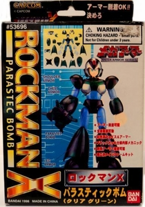 Mega Man X Mega Armor Series Model Kit Parastec Bomb Damaged Package, Mint contents