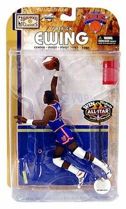 McFarlane Toys NBA Sports Picks Legends Series 4 Action Figure Patrick Ewing (New York Knicks) Blue Jersey Variant