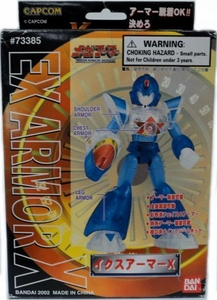 Mega Man X Mega Armor Series Model Kit EX Armor X