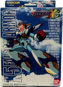Mega Man X Mega Armor Series Model Kit X5 Falcon Armor