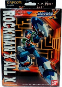 Mega Man X Mega Armor Series Model Kit All X