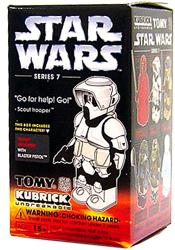 Star Wars Medicom Tomy Kubrick Collectible Figure Series 7 Scout Trooper