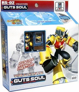 Mega Man NT Warrior Soul Unison Super Poseable Multi-Part Model Kit Action Figure Guts Soul RS-02
