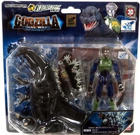 Godzilla Japanese Microman Figure Godzilla Final Wars Version (km-02)