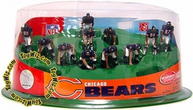 McFarlane Toys NFL 2 Inch Mini Sports Picks Ultimate 11 Piece Offensive Team Set Chicago Bears