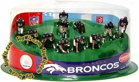 McFarlane Toys NFL 2 Inch Mini Sports Picks Ultimate 11 Piece Offensive Team Set Denver Broncos