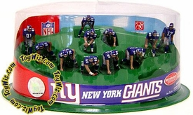 McFarlane Toys NFL 2 Inch Mini Sports Picks Ultimate 11 Piece Offensive Team Set New York Giants