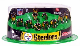 McFarlane Toys NFL 2 Inch Mini Sports Picks Ultimate 11 Piece Offensive Team Set Pittsburgh Steelers