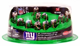 McFarlane Toys NFL 2 Inch Mini Sports Picks Ultimate 11 Piece Offensive Team Set CHAMPIONSHIP EDITION New York Giants
