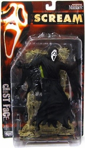 McFarlane Toys Movie Maniacs Series 2 Action Figure Scream: Ghost Face Damaged Package, Mint Contents!