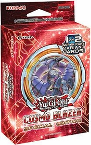 YuGiOh Cosmo Blazer SE Special Edition Pack [3 Booster Packs & 1 Random Promo Card]