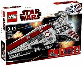 LEGO Star Wars Set #8039 Venator Class Republic Attack Cruiser