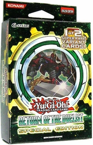 YuGiOh Return of the Duelist SE Special Edition Pack [3 Booster Packs & 1 Random Promo Card]