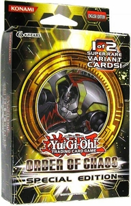 YuGiOh Order of Chaos SE Special Edition Pack [3 Booster Packs & 1 Random Promo Card]