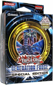 YuGiOh Generation Force SE Special Edition Pack [3 Booster Packs & 1 Random Promo Card] BLOWOUT SALE! BLOWOUT SALE!