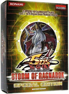 YuGiOh 5D's Storm of Ragnarok SE Special Edition Pack [3 Booster Packs & 1 Random Promo Card] BLOWOUT SALE!