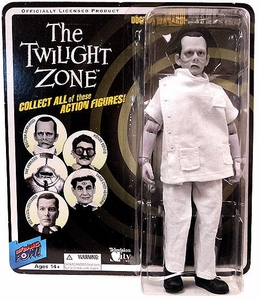Bif Bang Pow! Twilight Zone Series 4 Action Figure Doctor Bernardi