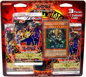YuGiOh Retro 2 SE Special Edition Blister Pack [3 Booster Packs & 1 Variant Card] Includes Green Baboon!
