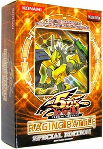 YuGiOh 5D's Raging Battle SE Special Edition Pack [3 Booster Packs & 1 Random Promo Card]