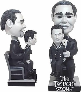 Bif Bang Pow! Twilight Zone Bobble Head Willie & Jerry