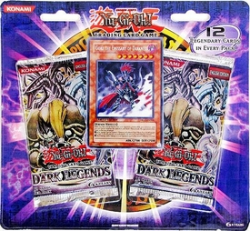 YuGiOh Dark Legends SE Special Edition Pack [Gorz Emissary of Darkness Card & 2 Dark Legends Booster Packs]