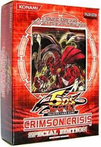 YuGiOh 5D's Crimson Crisis SE Special Edition Pack [3 Booster Packs & 1 Random Promo Card]