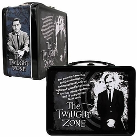 Twilight Zone Limited Edition Rod Serling Tin Tote Lunch Box
