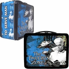 Twilight Zone Limited Edition Kanamit Tin Tote Lunch Box