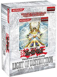 YuGiOh GX Light of Destruction SE Special Edition Pack [3 Booster Packs & 1 Random Promo Card]