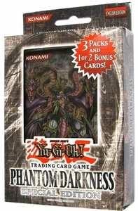 YuGiOh GX Phantom Darkness SE Special Edition Pack [3 Booster Packs & 1 Random Promo Card]