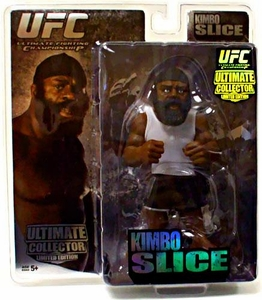 Round 5 UFC Ultimate Collector Series 2 LIMITED EDITION Action Figure Kimbo Slice Only 3,000 Made!