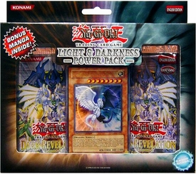 YuGiOh GX Card Game Light & Darkness Dragon Power Pack