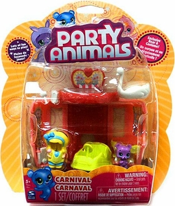 Party Animals Playset Carnival