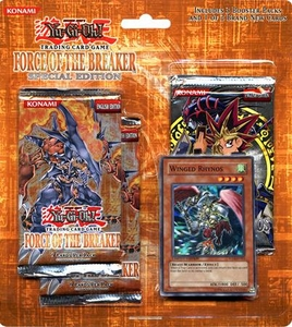 YuGiOh GX Card Game Force of the Breaker SE Special Edition Pack (Winged Rhynos)