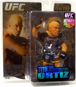 Round 5 UFC Ultimate Collector Series 2 LIMITED EDITION Action Figure Tito Ortiz Only 1,000 Made!