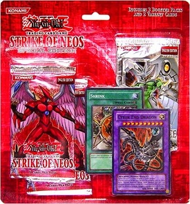 YuGiOh GX Card Game Strike of Neos SE Special Edition Blister Pack