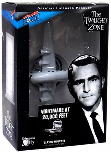 Bif Bang Pow! The Twilight Zone Nightmare at 20,000 Feet Diorama
