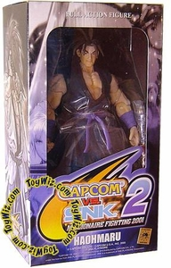 Capcom Vs. SNK 2 Street Fighter Series 2 Action Figure Samurai Showdown Haomuru VARIANT (Blue Gi)